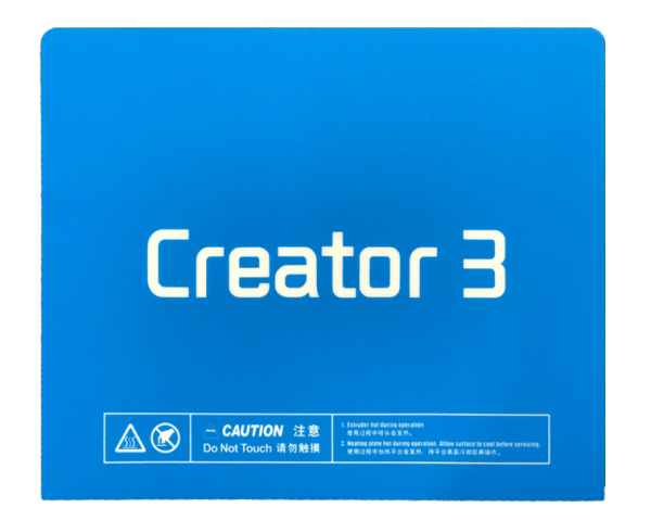 Flashforge-Creator3-3D-printeri